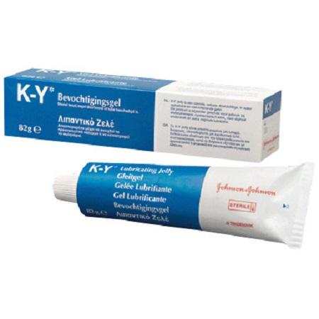 Tubo gel lubricante K-Y, 82 grs.